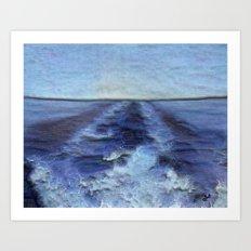 Wake Art Print