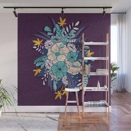 Jungle Bouquet 002 Wall Mural
