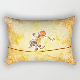 Pumpkin Tightrope Walker Rectangular Pillow