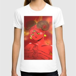 Red Thing...with horns...on fire T-shirt