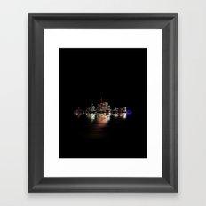 Toronto Flood No 3 My Island Framed Art Print