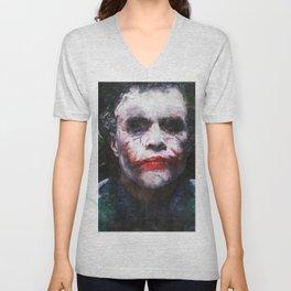 The Joker - The Clown Prince Of Gotham Unisex V-Neck