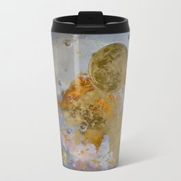 When the Moon fell into the Pond Travel Mug