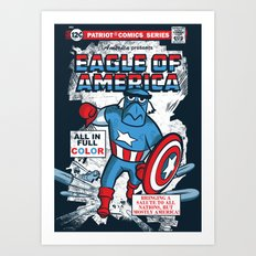 Eagle of America Art Print