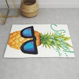 So Cool... So Pineapple! Sunglasses Rug