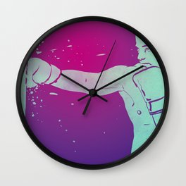 Boxing Club 6 Wall Clock