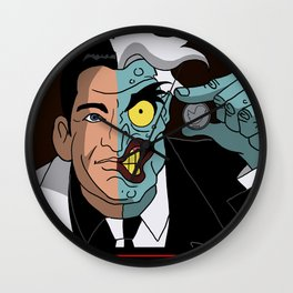 PAUL RYAN IS TWO FACE Wall Clock