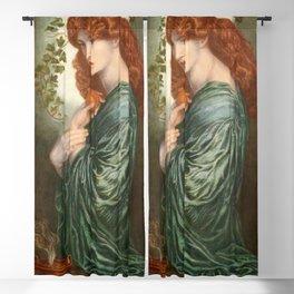 Dante Gabriel Rossetti - Proserpine Blackout Curtain