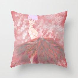 Who's That Ga-Girl! Throw Pillow