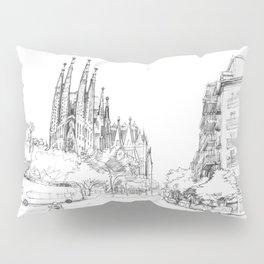 Sagrada Familia 2 Pillow Sham