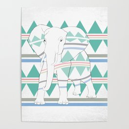 Do I Blend In? #elephant Poster