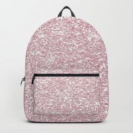 Elegant blush pink abstract trendy girly glitter Backpack