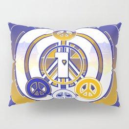 One Love (Blue) Pillow Sham