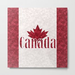 Canada, flag Metal Print