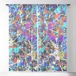 Splat! 2 (Inside Out) Sheer Curtain