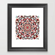 Mandala Number 4 - Square Format Framed Art Print