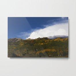 Rocky Mountain Vista Metal Print