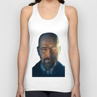 walter white Tank Tops featuring Walter White by turksworks