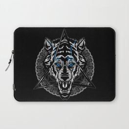 Bicklette Wolf Laptop Sleeve