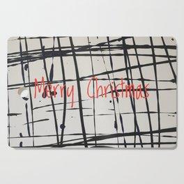 Best foot forward - Merry Christmas Cutting Board