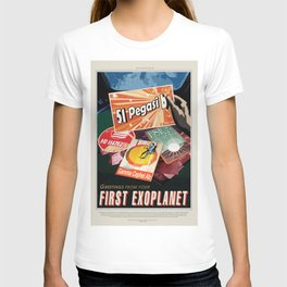 NASA Visions of the Future - Greetings from Your First Exoplanet, 51 Pegasi b T-shirt