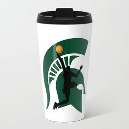 Michigan Basketball Travel Mug