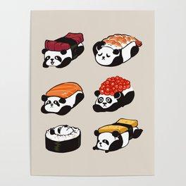 Sushi Panda Poster