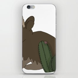 Desert Jackalope iPhone Skin