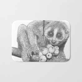 Slow Loris (Kera Duku) Bath Mat