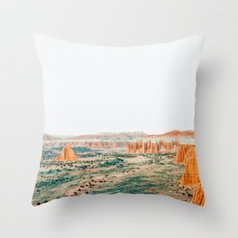 Travel Now #photography #nature Throw Pillow