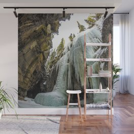 The Queen of Maligne Canyon, Jasper National Park Wall Mural