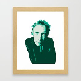Johnny Rotten Framed Art Print