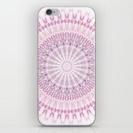 Rose White Mandala iPhone Skin
