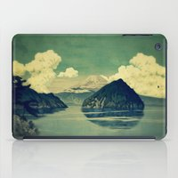 blues iPad Cases featuring Distant Blues by Kijiermono
