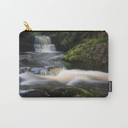 Waterfall behind Dinas Rock Carry-All Pouch