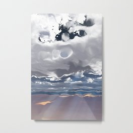 Godrays (Cloud series #3) Metal Print