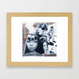 Mask 3 Framed Art Print