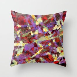sleep over 3 a Throw Pillow
