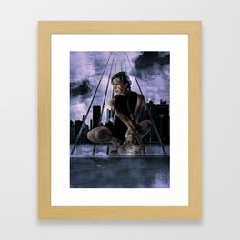 FreeRunning NYC Framed Art Print