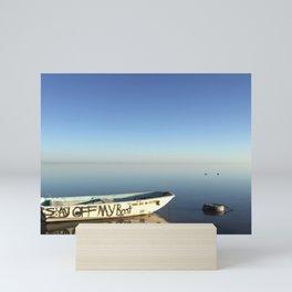salton sea 2 Mini Art Print
