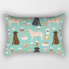 Labrador retriever gifts for lab owners golden retriever chocolate lab black lab dog breeds Rectangular Pillow