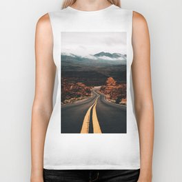 Road to Valley of Fire Biker Tank