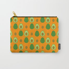 Avocado Pattern Carry-All Pouch