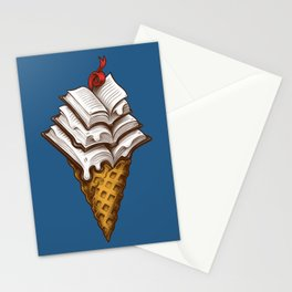 Ice Cream Books Stationery Cards