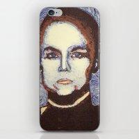ripley iPhone & iPod Skins featuring Ellen Ripley- Alien by Evanne Deatherage