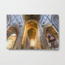 Bath Abbey Metal Print