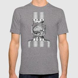 Mother Brain Super Metroid Engraving Scene T-shirt