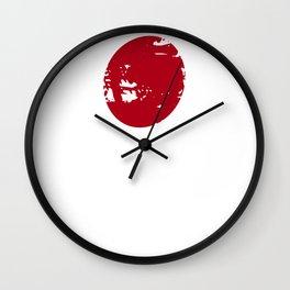Japan Tokyo Osaka Gift Flag Japanese Nation Wall Clock