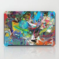 archan nair iPad Cases featuring Microcrystalline Tendrils by Archan Nair