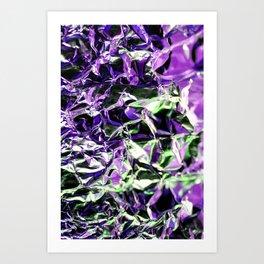 Tin Foil Treat (Aluminium) Art Print